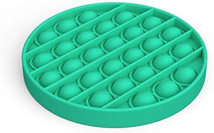 Pop It Fidget Toy Autism Special Needs Stress Reliever 4 Pack Push Pop Bubble Sensory Fidget Toy