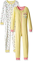 The Children\'s Place Little Girls and Toddler Stretchie Pajamas (Pack of 2), Sundance, 4T