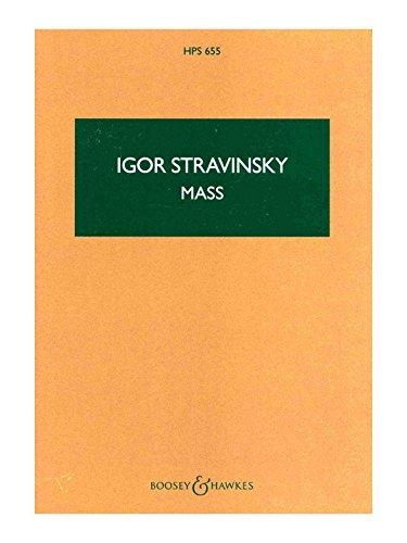 Messe: Kinderchor, Mnnerchor, 2 Oboen, Englischhorn, Fagott, 2 Trompeten, 3 Posaunen. (Hawkes Pocket Scores)