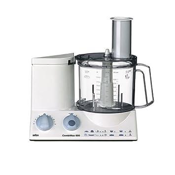 braun k650 multiquick 3 food processor, colore bianco: amazon.it ... - Robot Cucina Braun