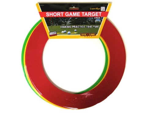 Eyeline Golf Short Game Target for Putting and Chipping (Pack of 3) -