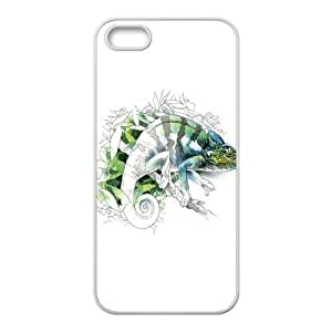 Custom Chameleon Design TPU Case Protector For Iphone 5 5S