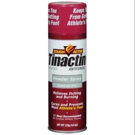 TINACTIN Antifungal Powder Spray, 4.6 oz (Pack of 2) GxT@k