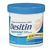 Desitin Diaper Rash Cream, Rapid Relief, Creamy 16 oz (454 g)