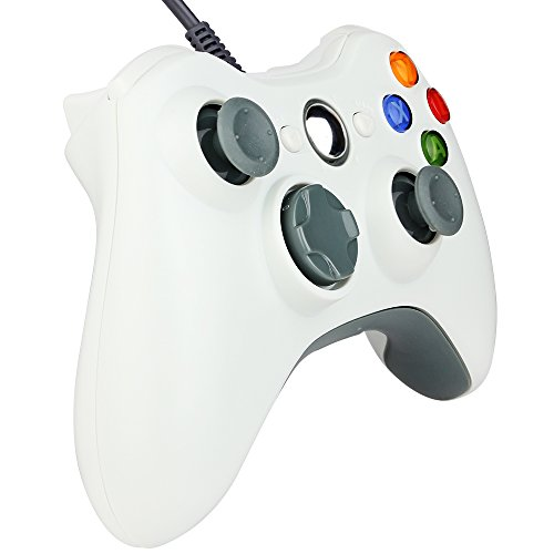 Kycola Xbox 360 Wired Controller SL11 Wired PC controller USB Gamepad For Xbox 360/PC(Fine (Usb Dual Pc Game Pads)