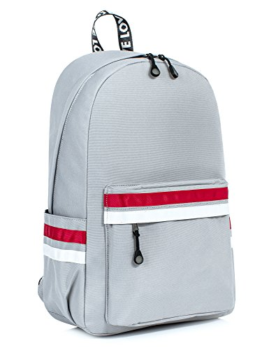 Laptop Backpack for Women Men, Travel Bag School Backpack for Girls Daypack Fits up to 15.6-Inch Laptop by Leaper Gray [8110]
