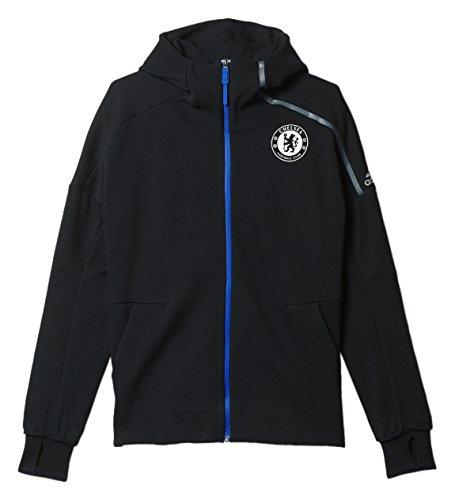 adidas Men's Athletics Chelsea FC Anthem Hoodie #AP1551 (M) (Adidas Chelsea Jacket)