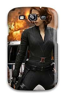 9451737K90453854 Galaxy S3 Hybrid Tpu Case Cover Silicon Bumper Scarlett Johansson In Avengers