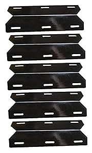 hongso ppc041(5-Pack) porcelana placa de calor de acero, escudo de calor, calor quemador de tienda de campaña, Cover, vaporizor Bar, y Flavorizer barras de repuesto para Charmglow Permasteel, Miembros Mark, llama perfecta (175/16