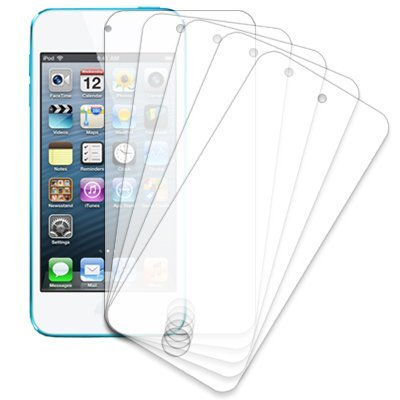 Ipod Touch Screen Cover (eTECH Collection 5 Pack of Anti-Glare & Anti-Fingerprint (Matte) Screen Protectors for Apple iPod Touch 5th Generation)