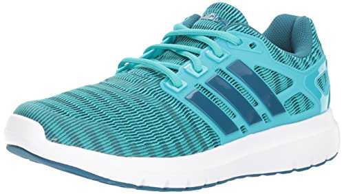 adidas Women's Energy Cloud V Running Shoe, hi-res Aqua/Real Teal/White, 7 M US