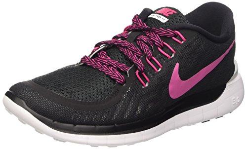 Donna Free Sportive Black Multicolore white 5 Wmns Scarpe Vivid Nike 0 Pink Yxq75w1x