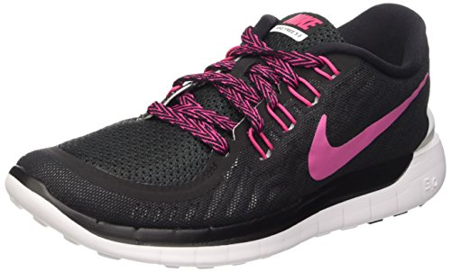 0 Sportive white Wmns 5 Multicolore vivid Scarpe black Nike Pink Free Donna Xwtqn4xFW