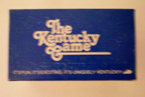 The Kentucky Game -- It's Fun, It's Exciting, It's Uniquely Kentucky! Kentucky Trivia Game -- 1985