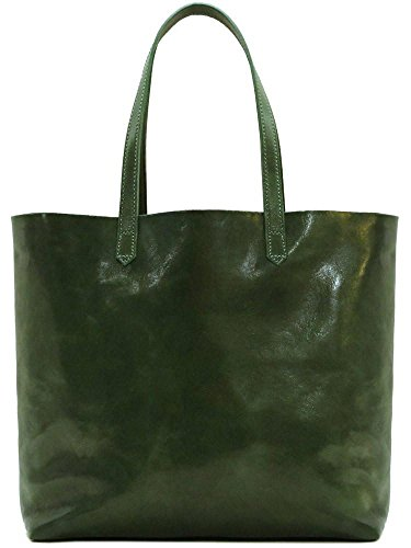 Floto Piazza Leather Tote Bag in Full Grain Calfskin by Floto