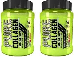 3xl pure collagen 400gr. - colágeno puro con sabor. (Pack 2u ...