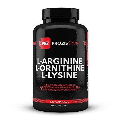 L-Arginin-L-Ornithin L-Lysin 120 Kapseln