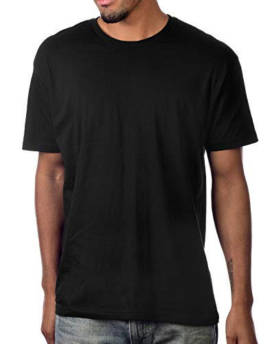 Ultra Soft Cotton Unisex Blank T-Shirt [Black/M]