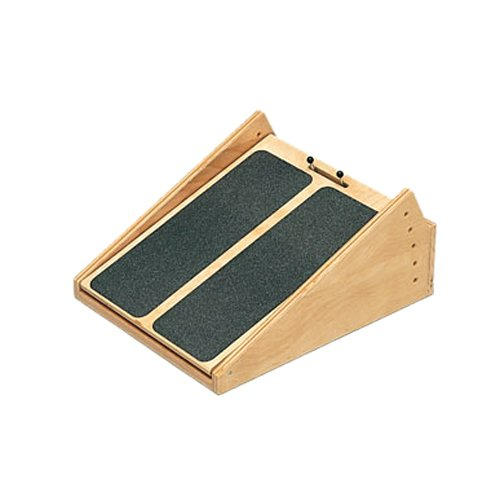 CanDo Adjustable Ankle Incline Board, Wooden