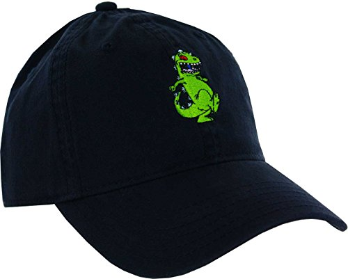 CONCEPT ONE Rugrats Reptar Washed Twill Dad Cap Navy -