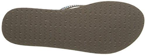 Women's Custard Box Flip Wedge Taupe Flop Yellow Rich BO4qwfq