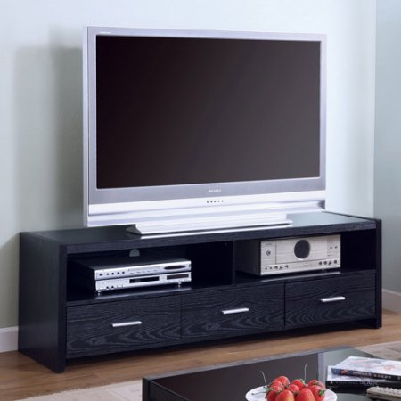Coaster Modern 3-Drawer TV Console for TVs up to 60