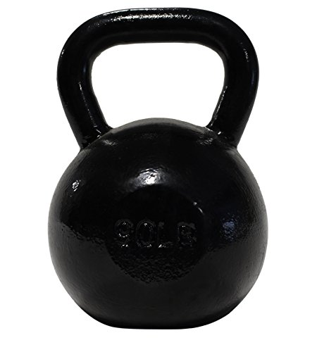 DWC Cast-Iron Kettlebells 50 – 90lbs for Functional Training and CrossFit Movements, Uncoated