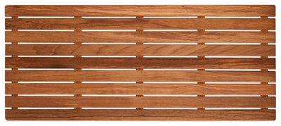 Plantation Teak Shower/Bath Mat (32'' x 14'') by Teakworks4u
