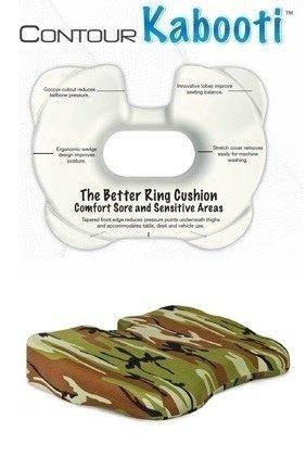 Contour Kabooti Ring – Shaped Seating Pillow, CAMO, Outdoor Stuffs