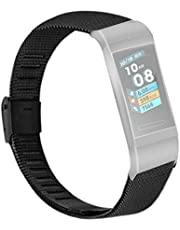 Edelstahl Armband für Huawei 3/3 PRO,Bloodfin Armbänder Ersatzarmband metallarmband Ersatzband Mesh Loop Schlaufe Uhrenarmband Geschenk Herren Damen Stahlband