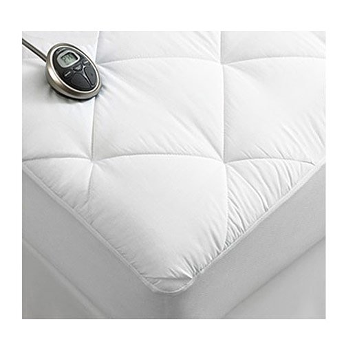 luxury quilted electric heated mattress