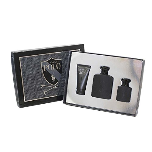 Ralph Lauren Polo Double Black 3 Piece Men's Gift Set