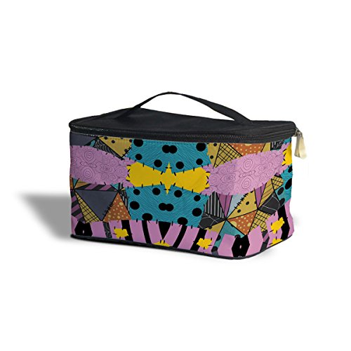 Ragdoll Patchwork Sally Cosmetics Storage Case - One Size Cosmetics Storage Case - Makeup Zipped Travel Bag