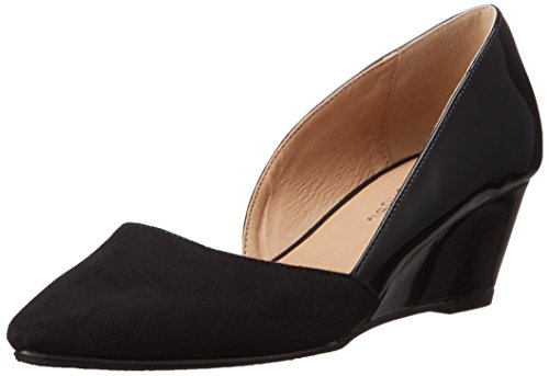 CL D'Orsay patent Suede Tracie Laundry Chinese Pump by Black Women's 6vqHw6nrxX
