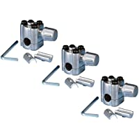 Ximoon (3 PACK) BPV-31 Bullet Piercing Valve 3 in 1 Access for Air Conditioners HVAC 1/4, 5/16, 3/8 Tubing