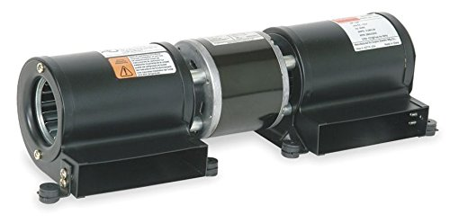 Dayton 1TDU8 Low Profile Blower, 115 V, Degrees_Fahrenheit, to Volts, Amps, (