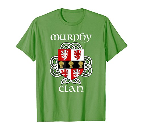 (Murphy Family Crest Coat of Arms T Shirt)