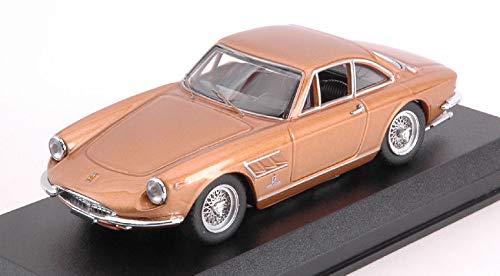FERRARI 330 GTC 1966 BY PININFARINA NOCCIOLA METALLIC 1 43 - Best Model - Auto Stradali - Die Cast - Modellino