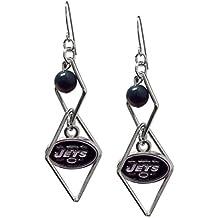 Pro Specialties Group NFL Triangle Logo Dangler Earrings
