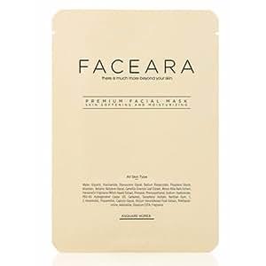 FACEARA - Juego de 30 hojas de máscara facial premium para ...