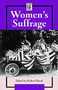 Women's  Suffrage (History Firsthand (Paperback))