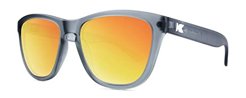 Gafas de sol Knockaround Premium Frosted Grey / Red Sunset