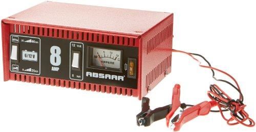 Absaar 77911 Batterieladegerät 8 AH   6/12V auch für Motorrad