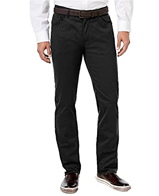 Calvin Klein Men's Stretch Cotton Twill Pants