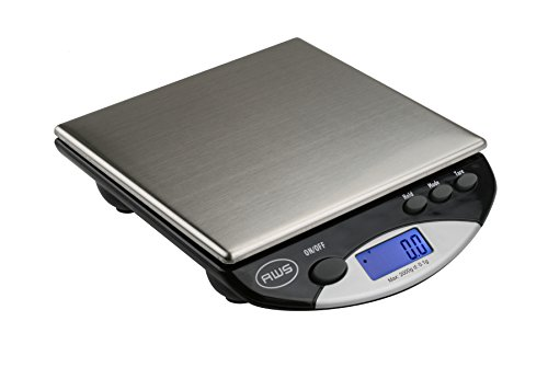 American Weigh Scales Digital Kitchen Scale, Stainless ()
