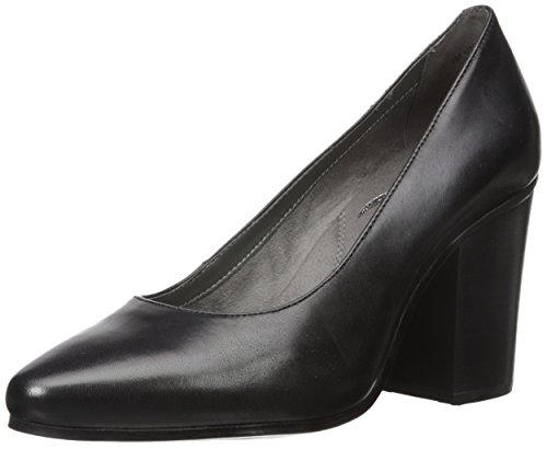 Aerosoles Leather Pumps (Aerosoles Women's Union Square Pump, Black Leather, 9 M US)