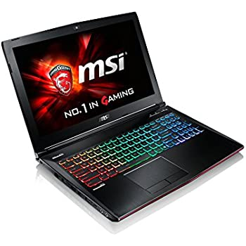 "MSI GE62 Apache Pro-004 15.6"" Gaming Laptop Notebook i7-6700HQ NVIDIA Geforce GTX960M 16GB 1TB Windows 10"