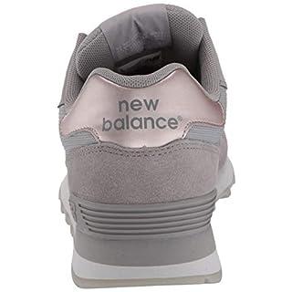 New Balance Women's 515 V1 Sneaker, Marblehead/Rain Cloud/Rose Gold Metallic, 7 M US