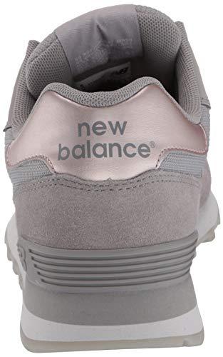 New Balance Women's 515 V1 Sneaker, Marblehead/Rain Cloud/Rose Gold Metallic, 6.5 W US