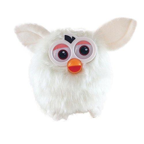 Suduone Owl Plush Interactive Toy - Plush Toy Mimics What You Say - Talking Plush Toy (White)